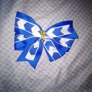 Softball/ Cheer bow with a clip